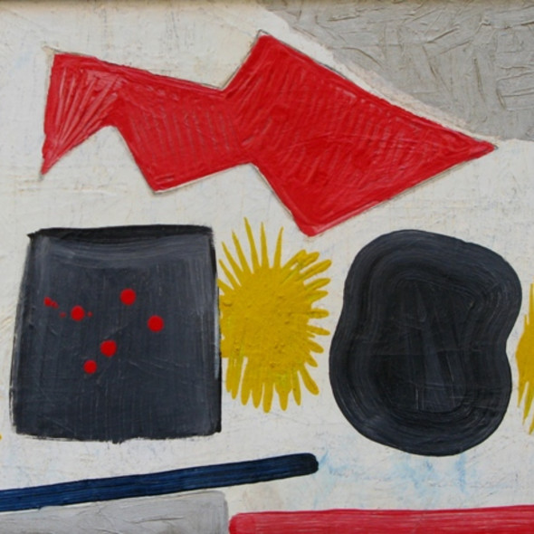 Caziel, WC212 - Composition no. 37, c. 1950