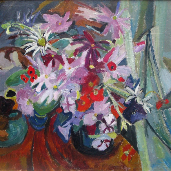 Mildred Bendall, Bouquet and Harbour, c. 1935