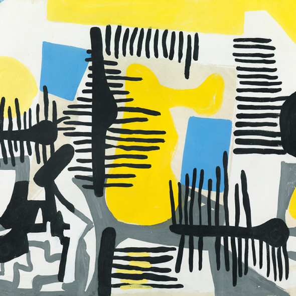 Caziel, WC228 - Composition no. 27, c. 1950