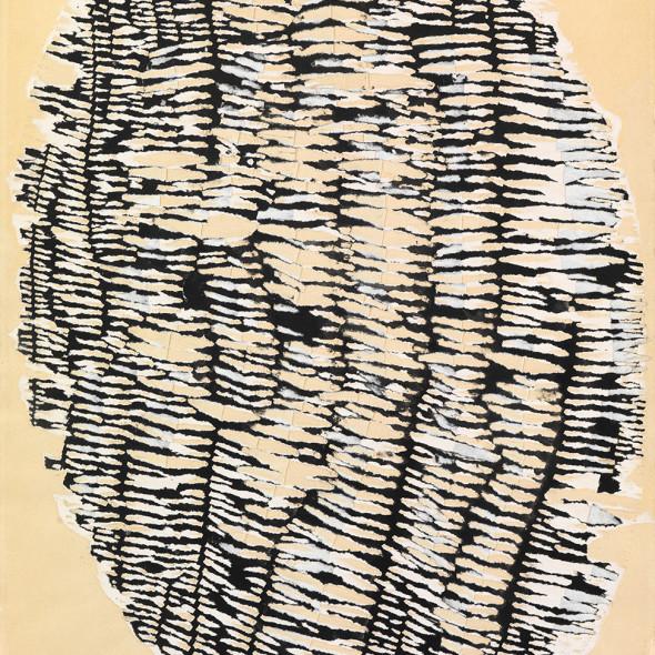 Reinhold Koehler, Décollage Pur 1960 VII/7, 1960