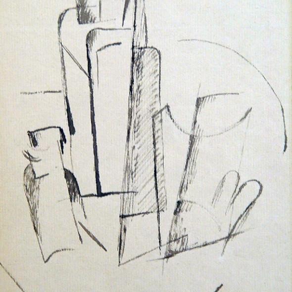 Otto Gutfreund - Nature Morte, c. 1919