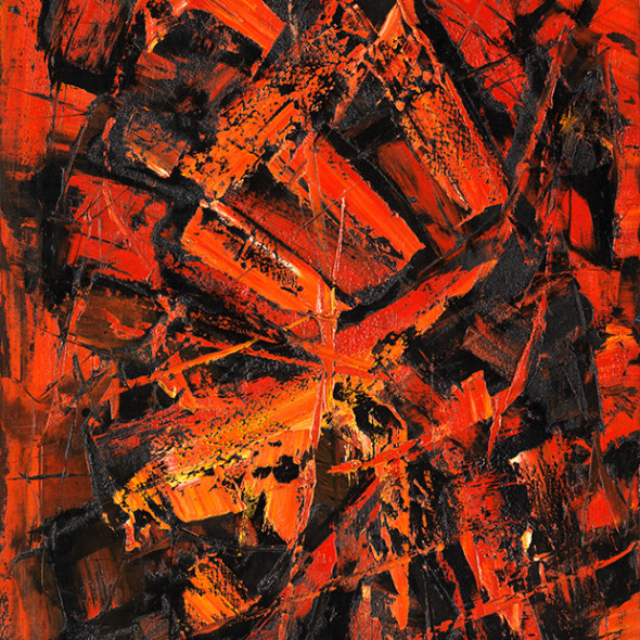 Frank Avray Wilson, FAW757 - Eruption, 1960