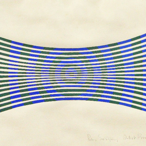 Peter Sedgley - Blue and Green Modulation, 1964