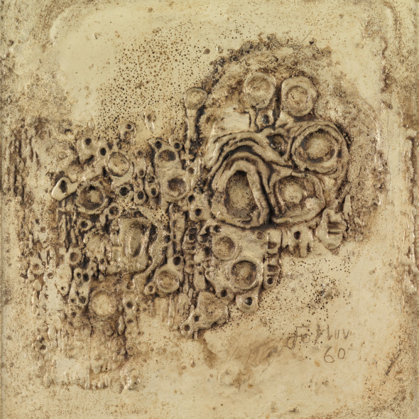 Reinhold Koehler, Sandbild 1960 II/3, 1960