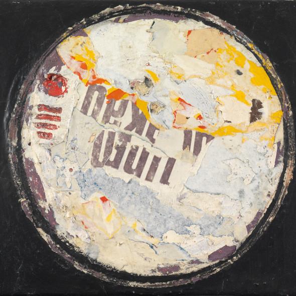 Reinhold Koehler, Plakat-Décollage, 1957