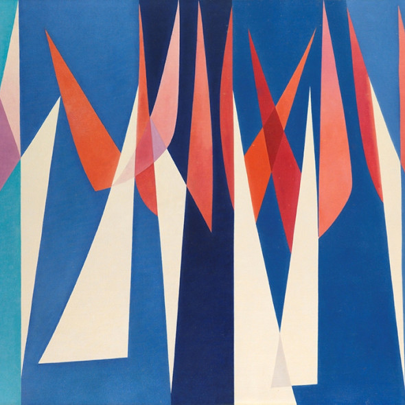 Ernst Klinger - Strollers, c. 1957