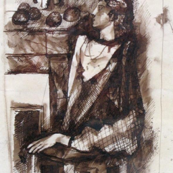 Pavel Tchelitchew - Portrait - Nature Morte, c. 1930