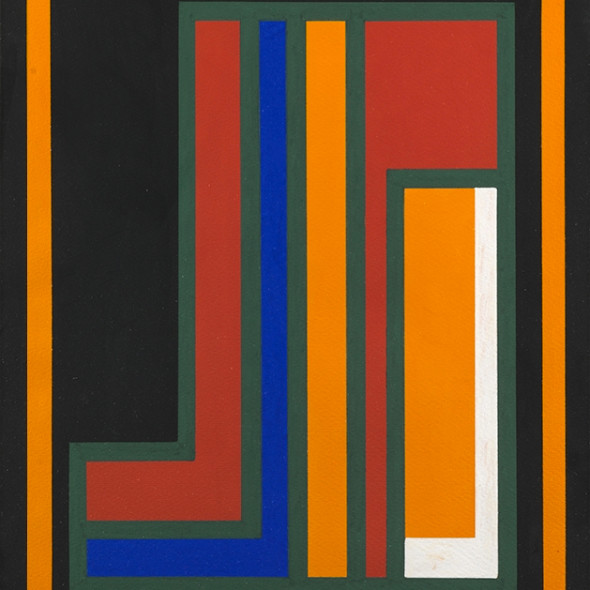 Guy Vandenbranden - Abstract Composition, c. 1973