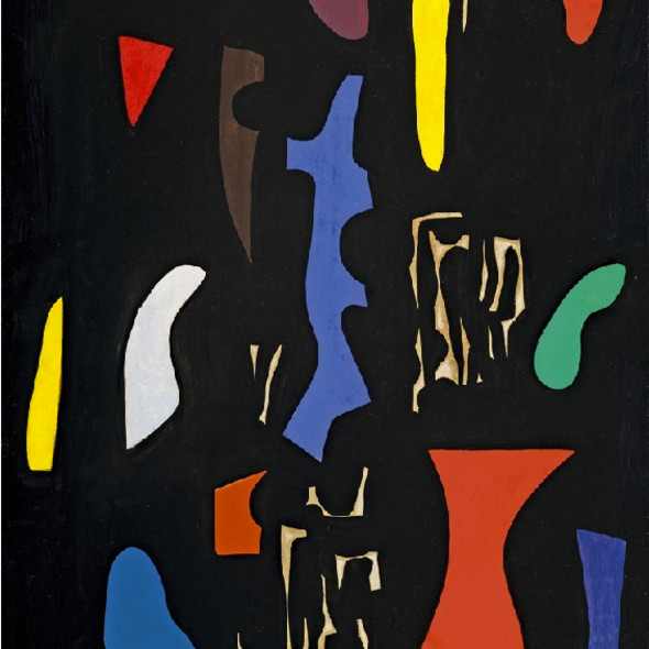Caziel, WC471 - Composition 09.51, 1951