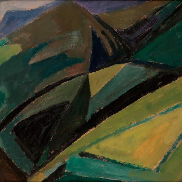 Mildred Bendall, Mountain Landscape, c. 1950