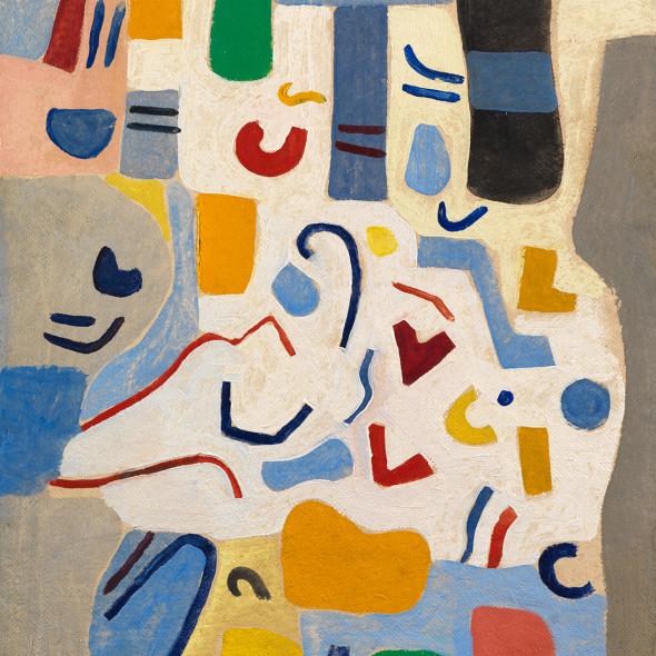 Caziel, WC777 - Composition 1967.3 (Pesto), 1967