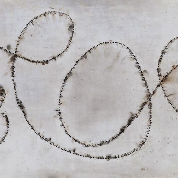 Bernard Aubertin - Tableau Feu, 1968
