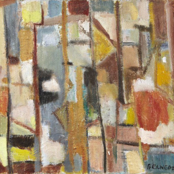 Georges Bernède, C061 - Composition 58, 1958