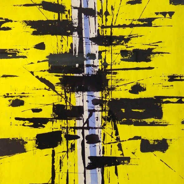 John Milnes-Smith - Yellow Composition, 1954