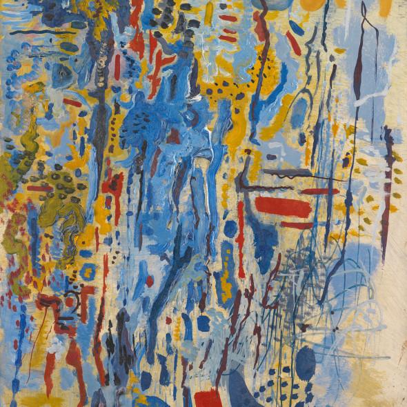 Caziel, WC607 - Composition IX/1965, 1965