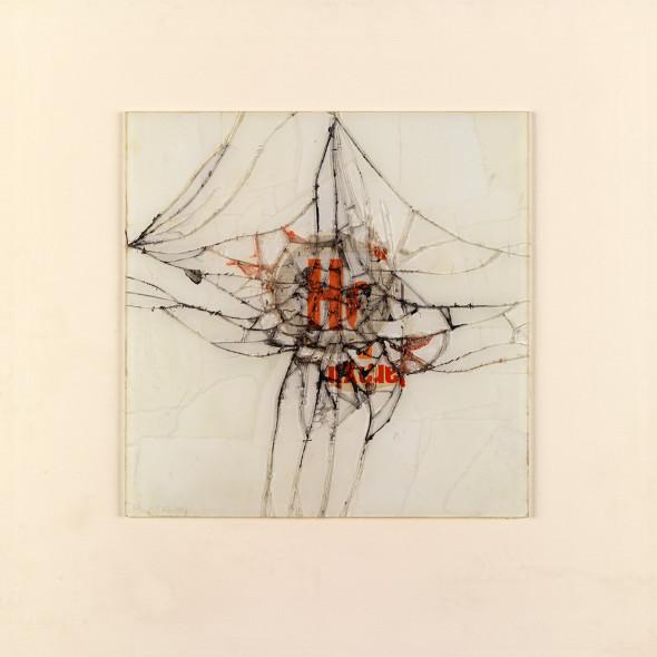 Reinhold Koehler, Fragment H, Contre-Collage, 1969