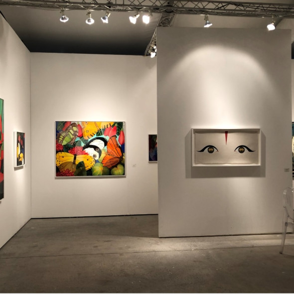 Art Miami Modern Masters and Senaka Senanayake
