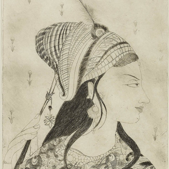Editions of a Master Etchings by Abdur Rahman Chughtai