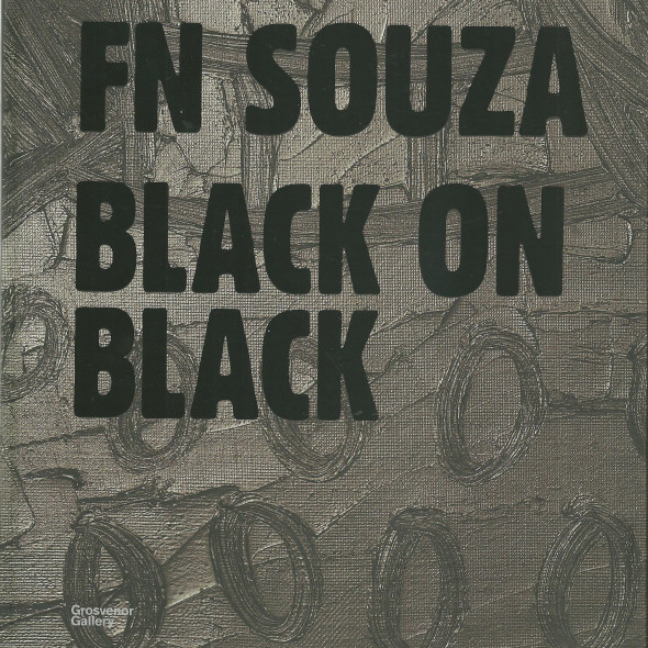 FN Souza, Black on Black Frieze Masters