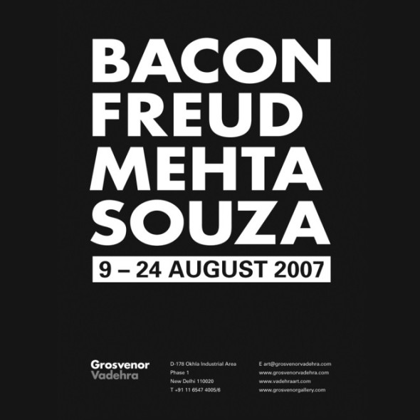 Bacon, Freud, Mehta, Souza