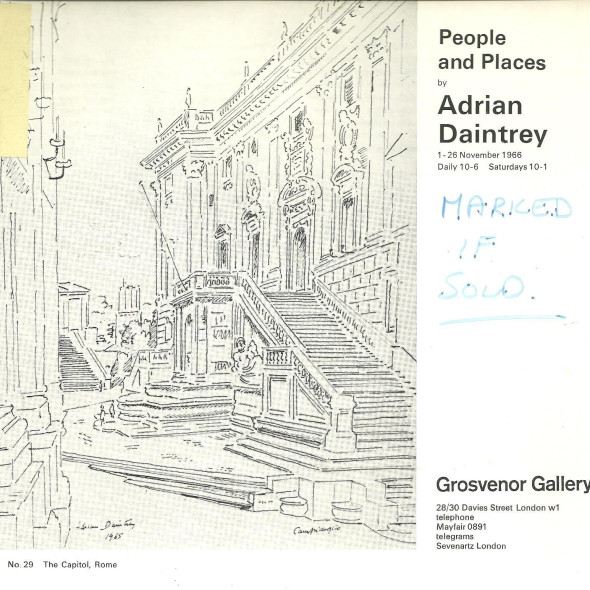 People and Places by Adrian Daintrey
