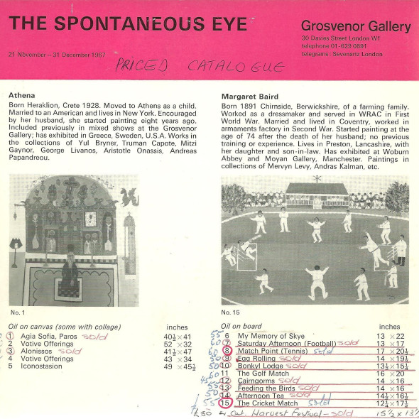 The Spontaneous Eye
