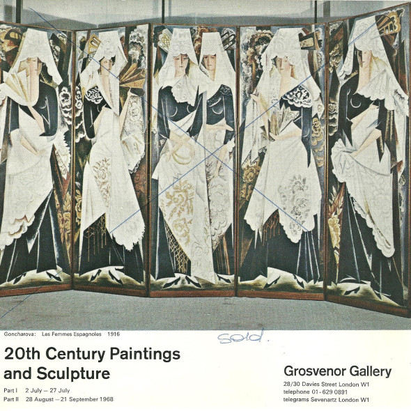 20th Century Paintings and Sculpture