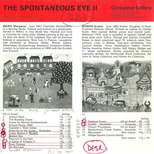 The Spontaneous Eye II