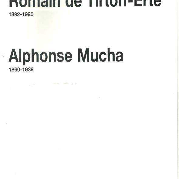 Romain de Tirtoff-Erte by Alphonse Mucha