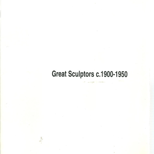Great Sculptors