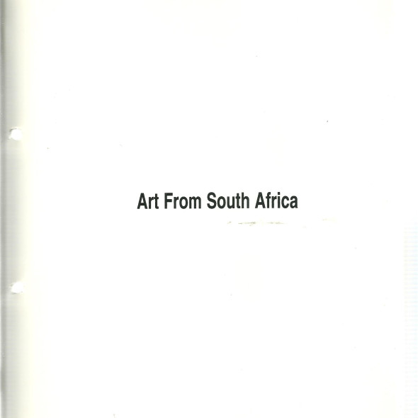 Art from South Africa