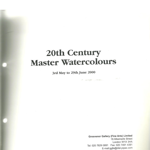 20th Century Master Watercolours