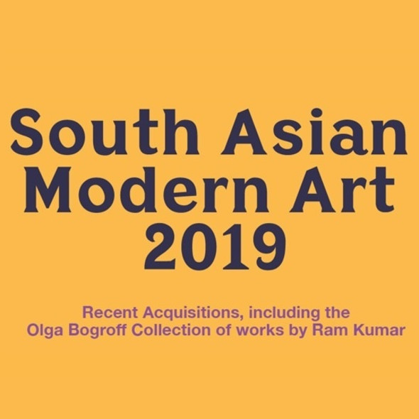 South Asian Modern Art, 2019 Including the Olga Bogroff Collection of works by Ram Kumar