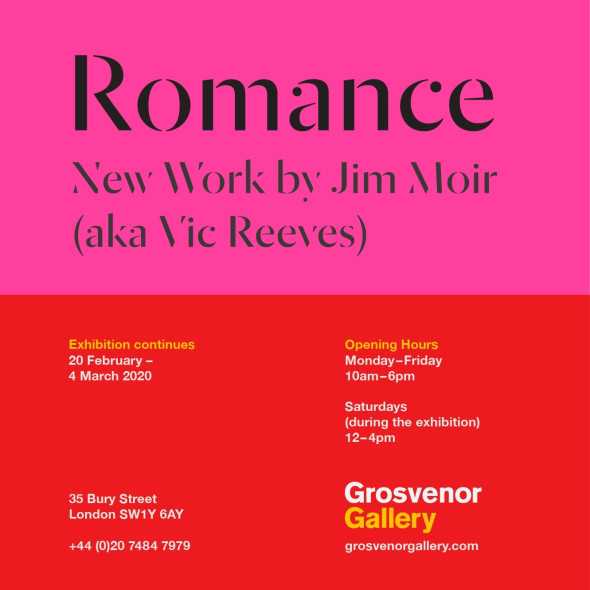 Romance, New Work by Jim Moir aka Vic Reeves