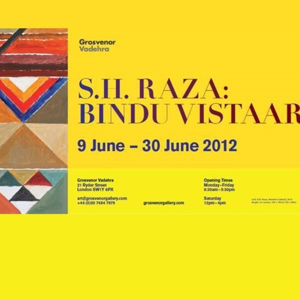 SH Raza, Bindu Vistaar