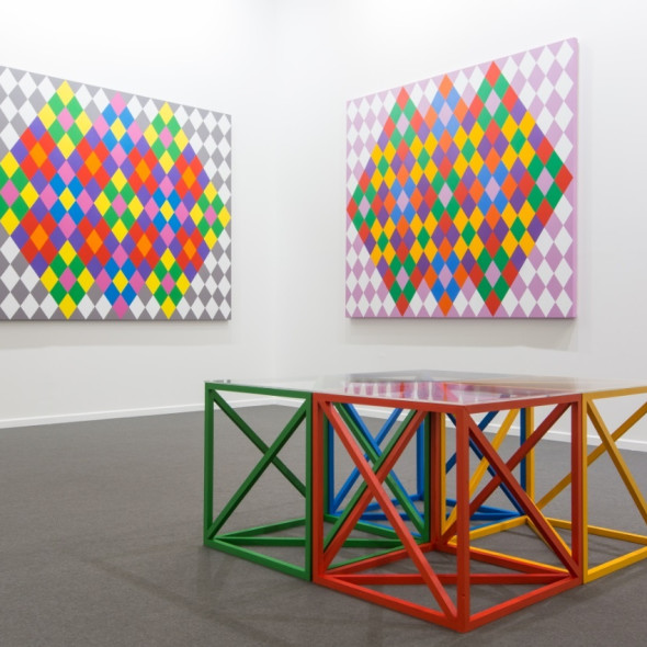 Art Dubai Contemporary Rasheed Araeen, OPUS