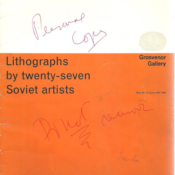 Lithographs by Twenty-Seven Soviet artists