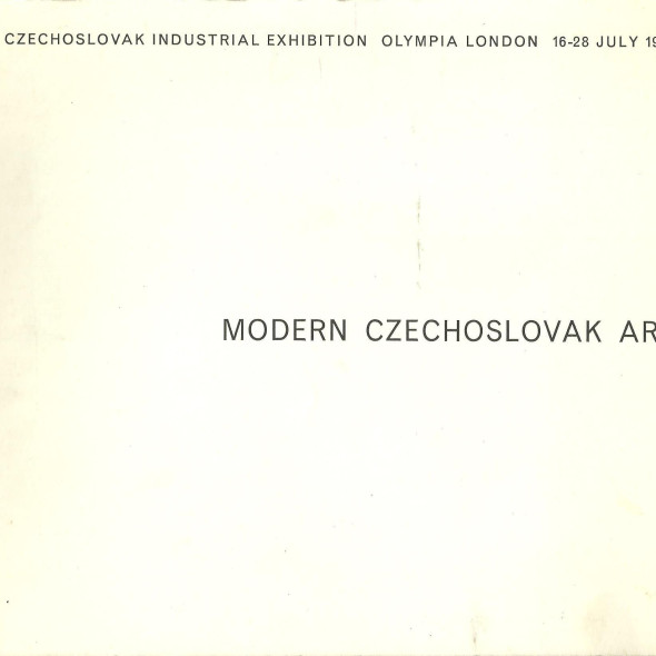 Modern Czechoslovak Art Czechoslovak Industrial Exhibition Olympia London