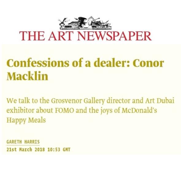 Confessions of a Dealer - Conor Macklin