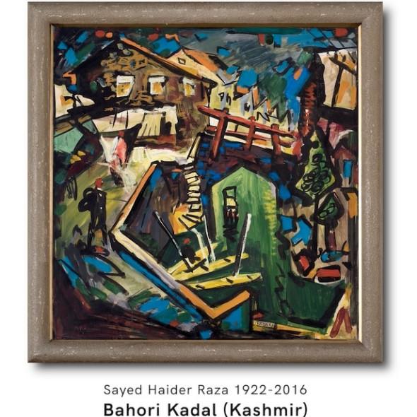 Sayed Haider Raza, A Rediscovery