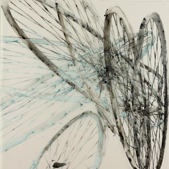 Katina Huston - Hippie Glass I, 2018
