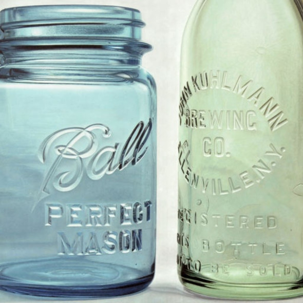 Greg Haynes - Blue Mason Jar
