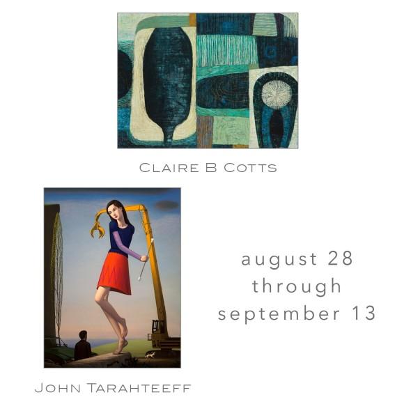 John Tarahteeff + Claire B Cotts