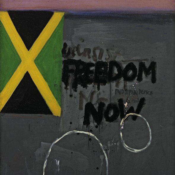 Adrian Henri - Painting for Jamaican Independence (from Liverpool 8 series, no. 5), 1962