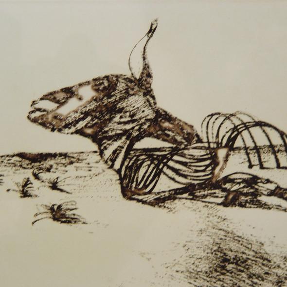 Sidney Nolan - Carcass, c. 1971