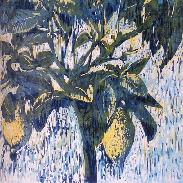 Hilary Daltry RE - September Fruits on Copenhagen Dish