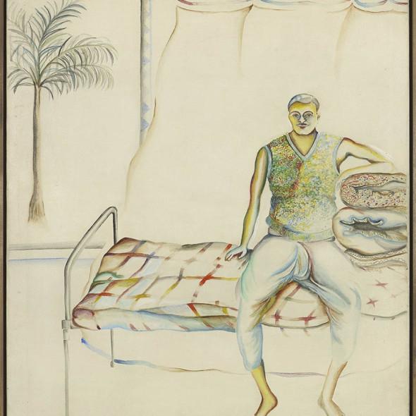 Bhupen Khakhar - Portrait of Pandoo, 1977
