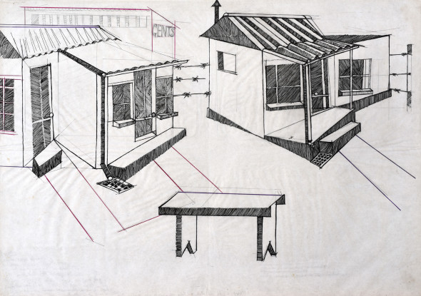 Dumile Feni, Township, c.1970