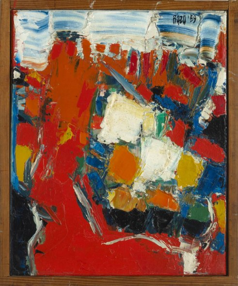 Sayed Haider Raza, Allee Rouge, 1959