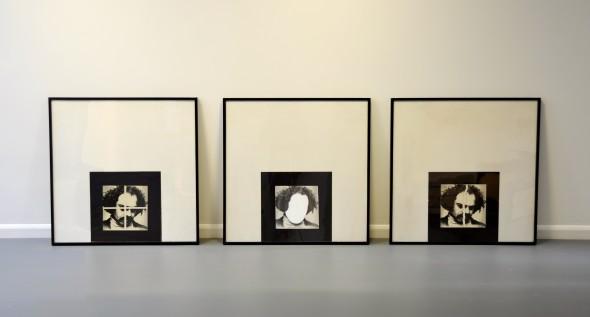 Rasheed Araeen, Art History, Brilliant White and Crossed, 1979